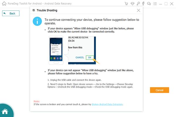 Verbinden Sie Samsung mit dem PC, um gelöschte Fotos wiederherzustellen