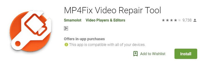 Reparieren Sie Videos Cant Play Android Video Repair Tool