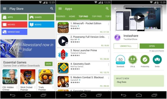 Vermeiden Sie das Herunterladen von Apps außerhalb des Play Store, um den Verlust von Fotos auf Android zu vermeiden