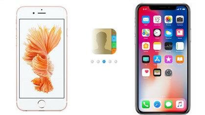 Kontakt vom iPhone zum iPhone übertragen