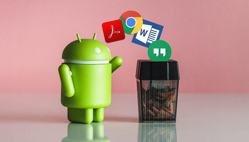 Entfernen Sie nicht verwendete Anwendungen auf Ihrem Android