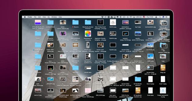 Überladener Desktop
