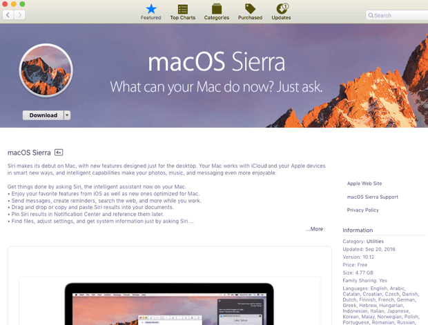 Outated Macos