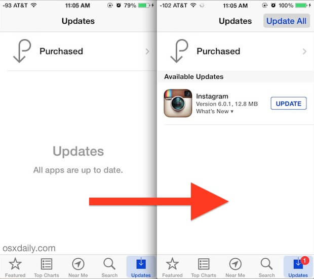 Updates Instagram App