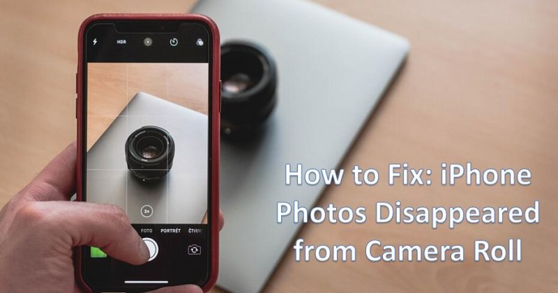 Warum sind meine Fotos auf meinem iPhone verschwunden?