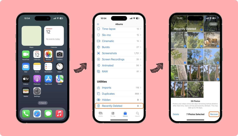 Gelöschte Videos vom iPhone wiederherstellen