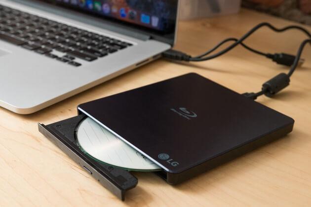 Externe Festplatte, die keine Methode anzeigt