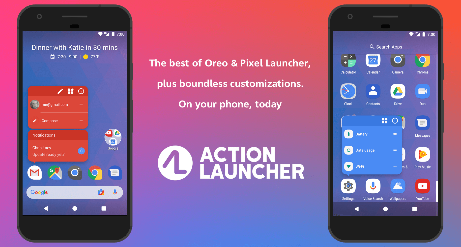 Bester Android Launcher Action Launcher