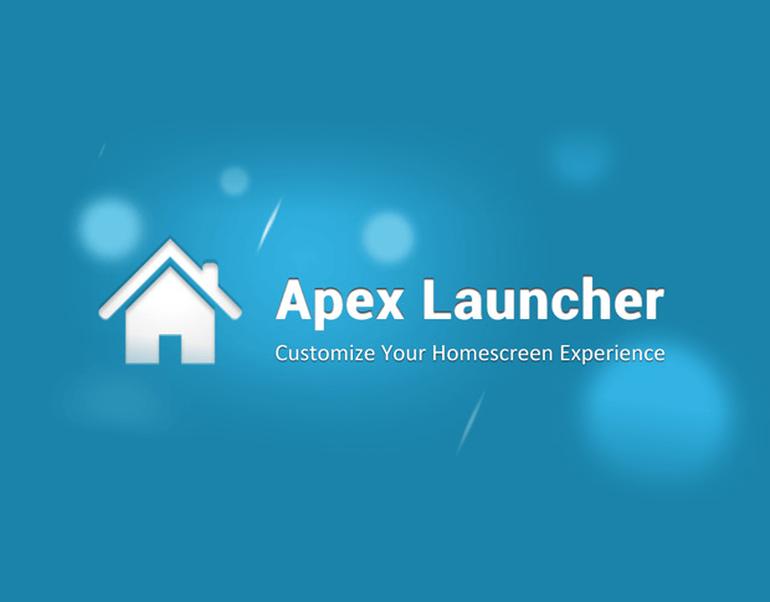 Beste Android Launcher Apex Launcher