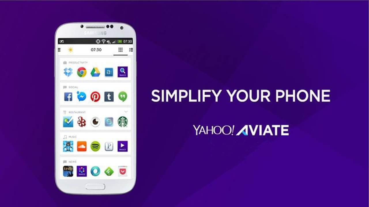 Beste Android Launcher Aviate