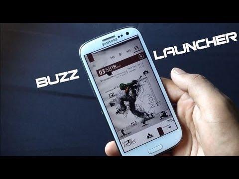 Beste Android Launcher Buzz Launcher