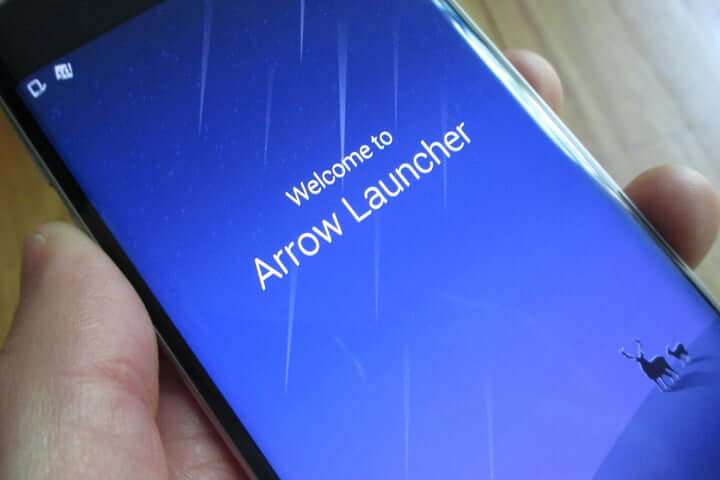 Bester Android Launcher Microsoft Arrow Launcher