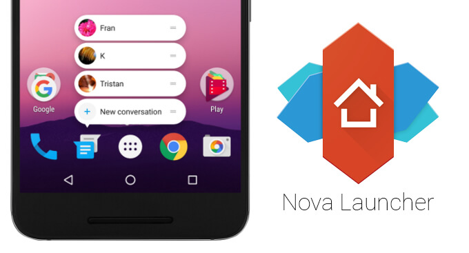 Bester Android Launcher Nova Launcher