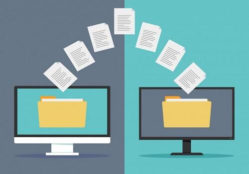 Dateien übertragen
